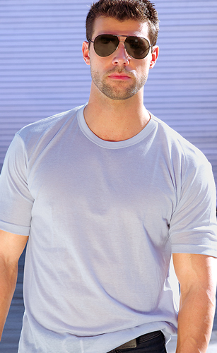 Light Gray Tan Through Tank Top Shirt