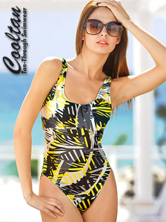 1-Piece Abstract Design Rockstar Classic Tank Suit #813100 #815100